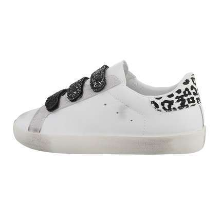 Damen Low-Sneakers - whiteblack