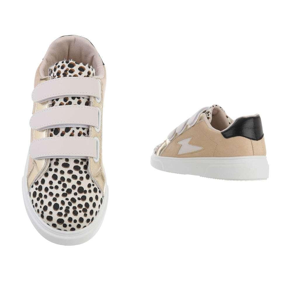 Teniși pentru femei - leopard bej - image 3
