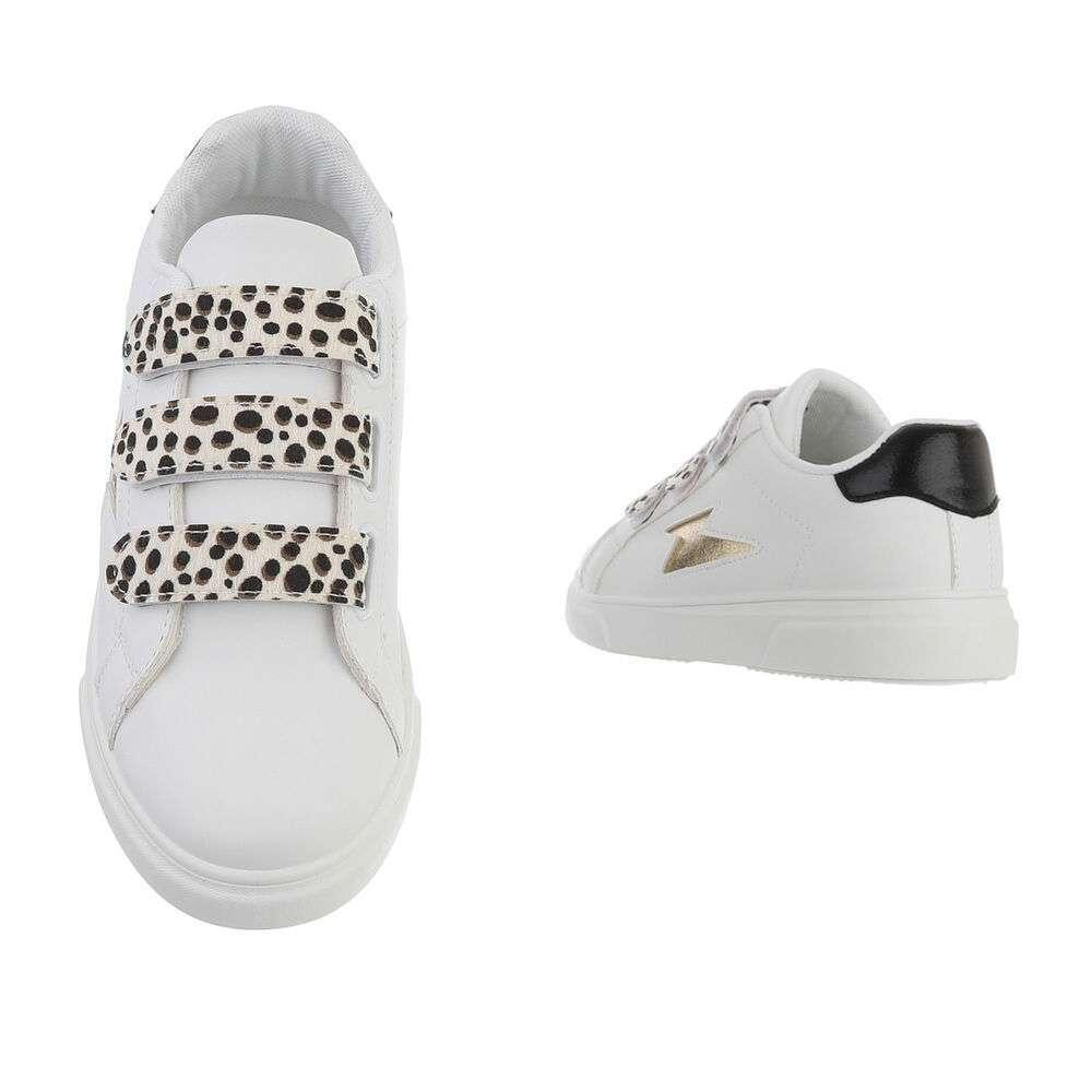 Teniși pentru femei - leopard alb - image 3