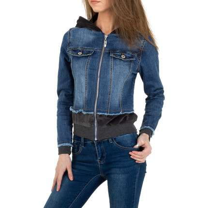 Damen Jeansjacke von M. Sara Denim - blue