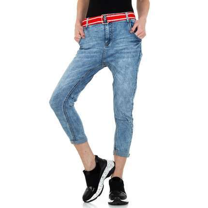 Damen Boyfriend Jeans von Gress Jeans Wear - blue