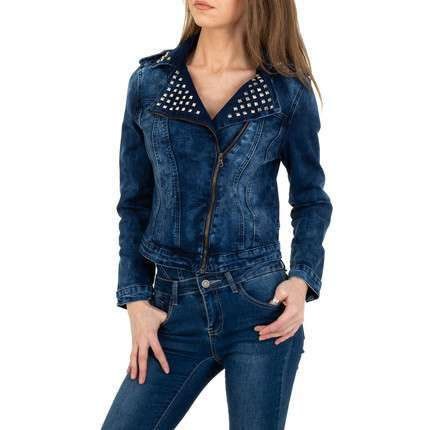 Damen Jeansjacke von Gress Jeans Wear - blue