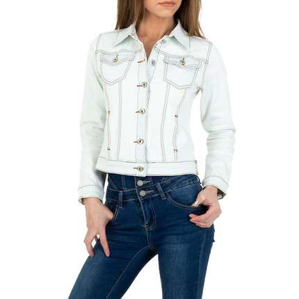 Damen Jeansjacke von ABC Fashion - offwhite