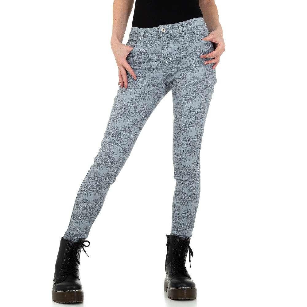 Pantaloni skinny pentru femei de M. Sara Denim - gri