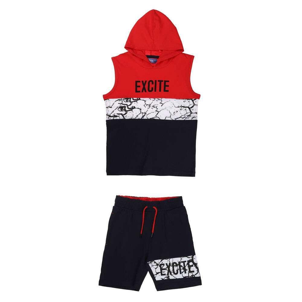 Costum sport pentru băieți marca Glo storye - roșu - image 1