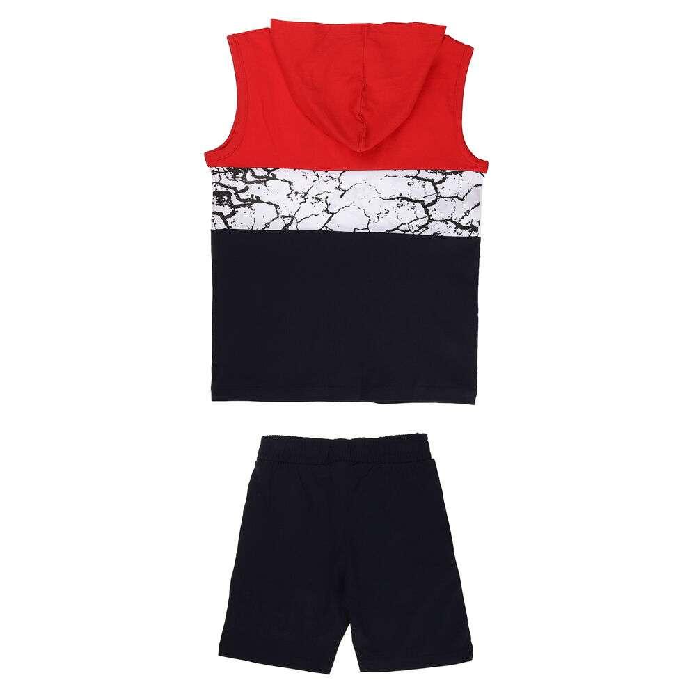 Costum sport pentru băieți marca Glo storye - roșu - image 2