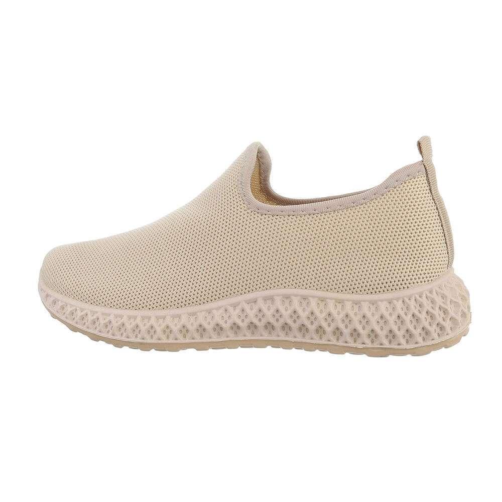 Damen Low-Sneakers - bej