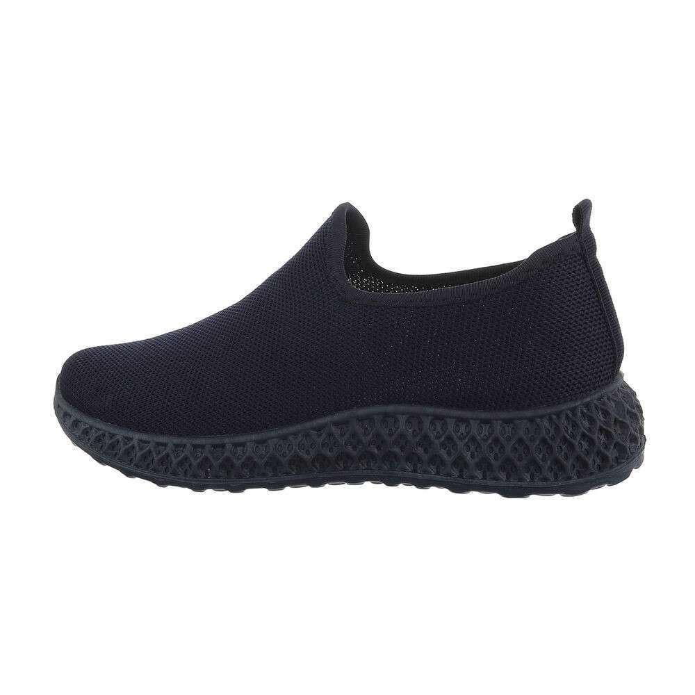 Damen Low-Sneakers - închis albastru