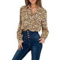 Damen Hemdbluse von Voyelles - orange