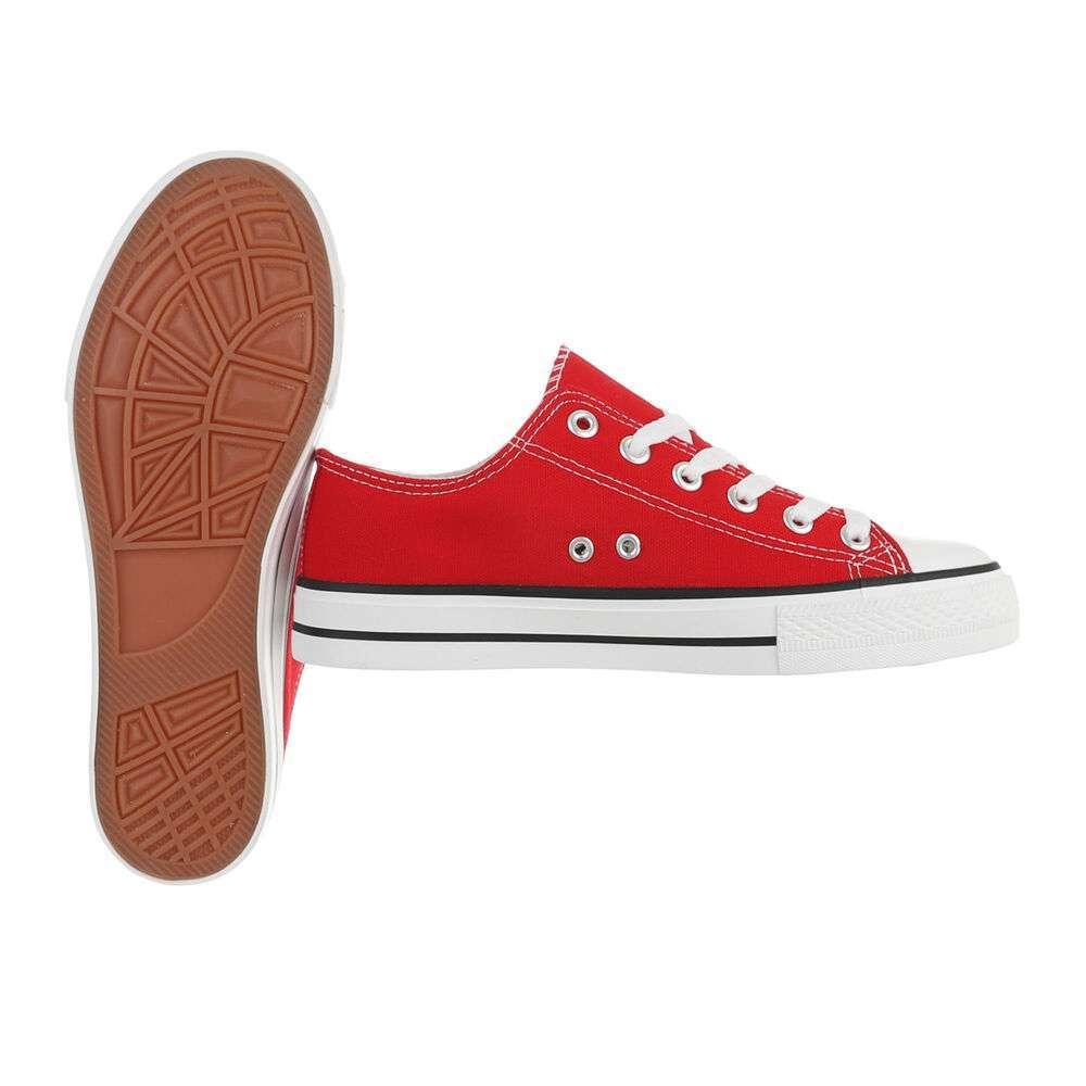 Pantofi casual pentru bărbați - roșii - image 2