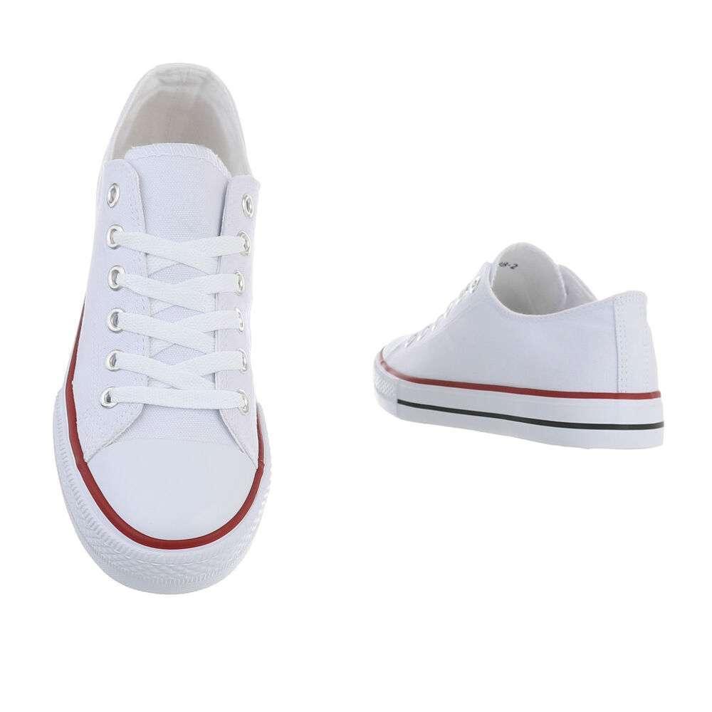 Pantofi casual pentru bărbați - albi - image 3