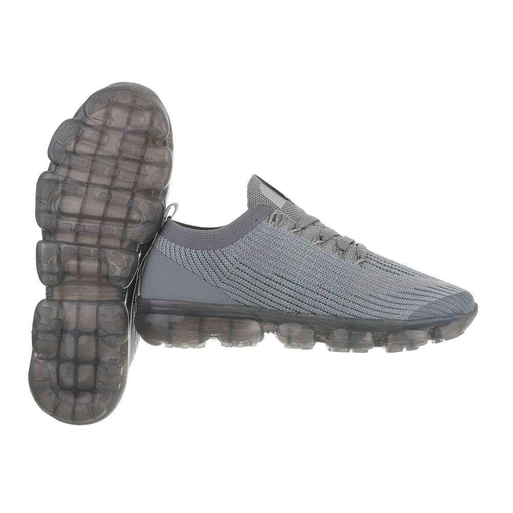 Pantofi casual pentru bărbați - D.gri - image 2