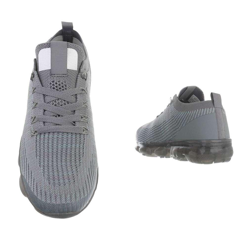 Pantofi casual pentru bărbați - D.gri - image 3