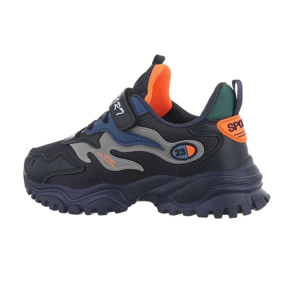 Pantofi casual pentru copii - bleumarin