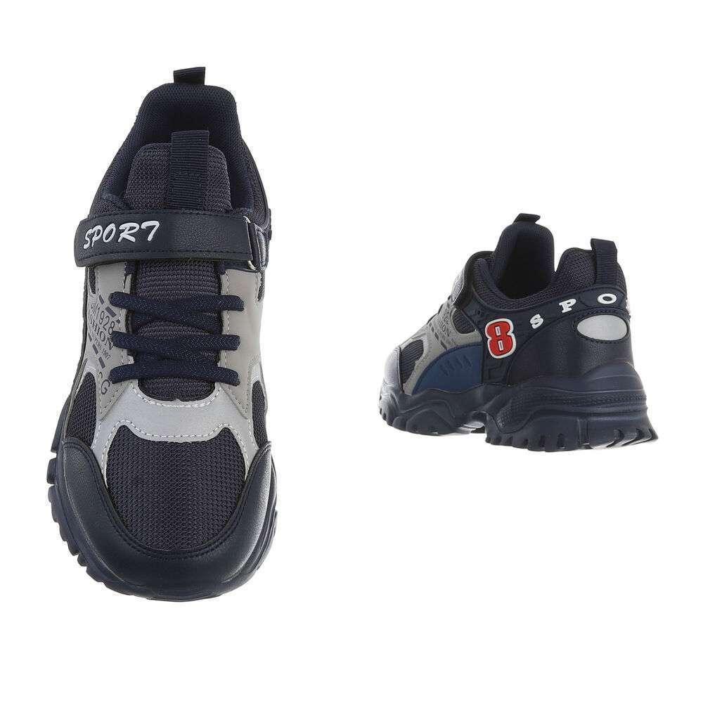 Pantofi casual pentru copii - bleumarin - image 3