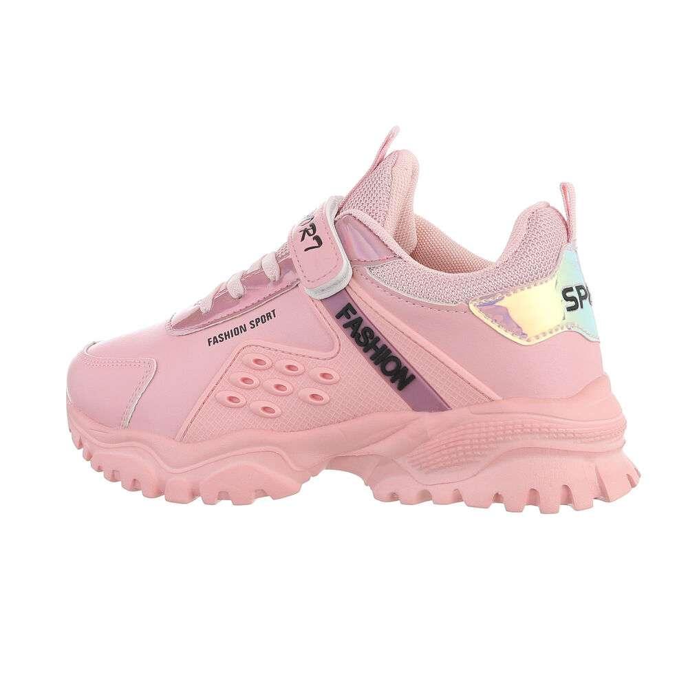 Pantofi casual pentru copii - meatcolor - image 1