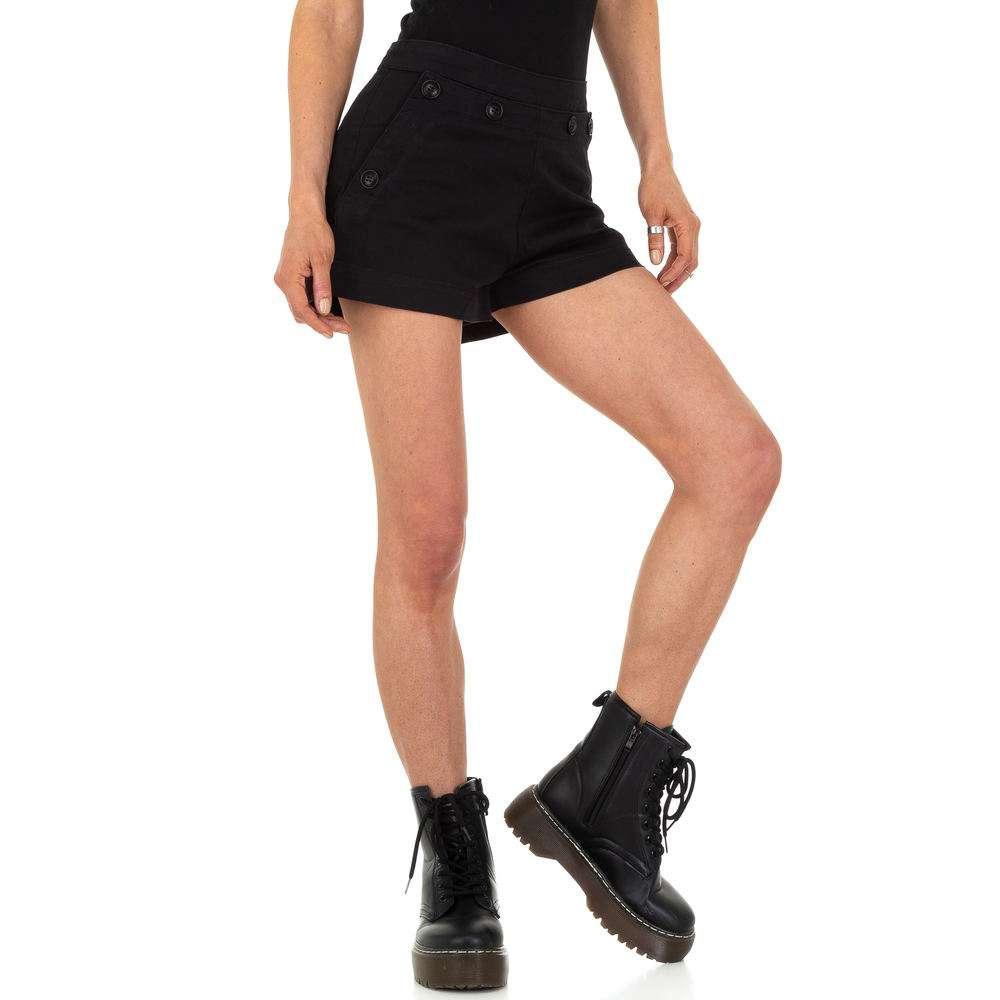 Женские шорты by - черные
