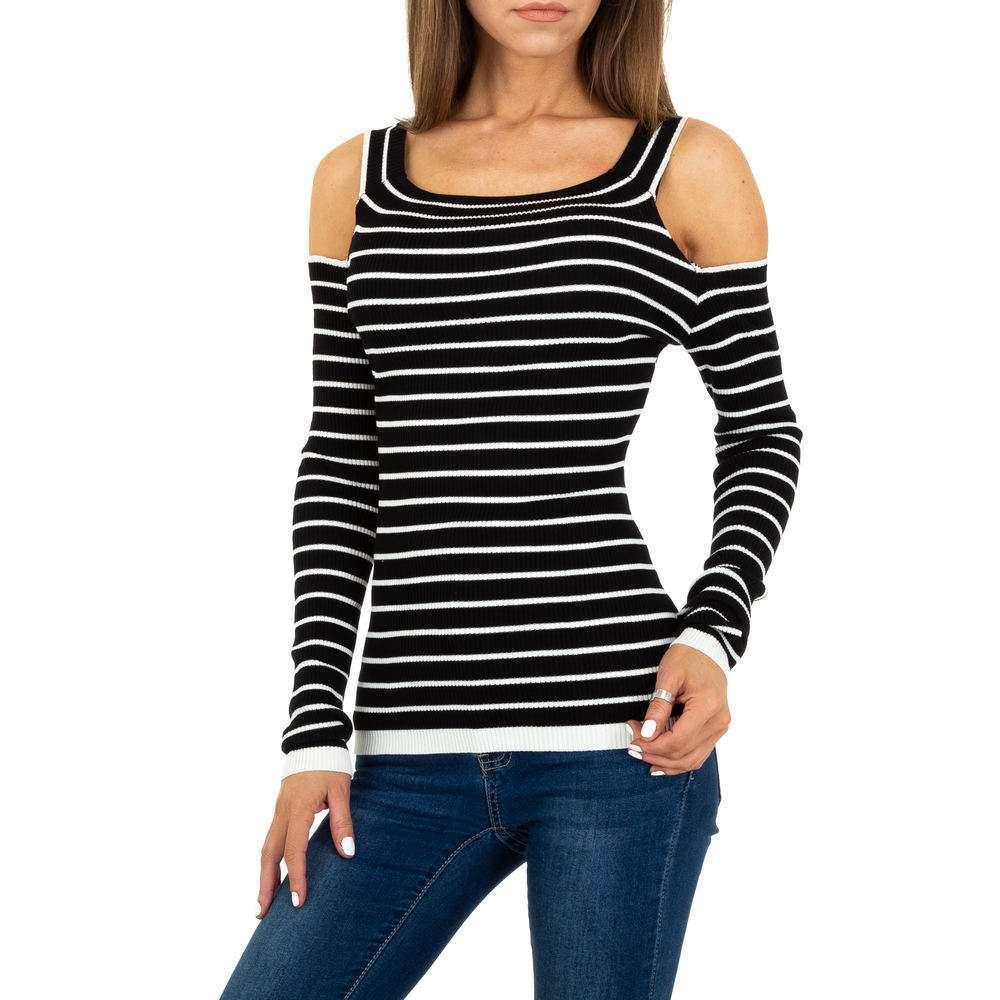 Pulover tricotat pentru femei Gr. O singură mărime - negru