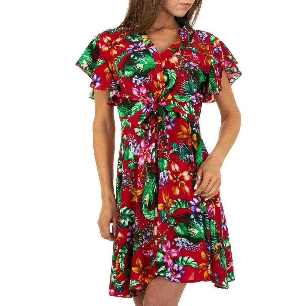 Mini rochie pentru femei - roșie - image 1