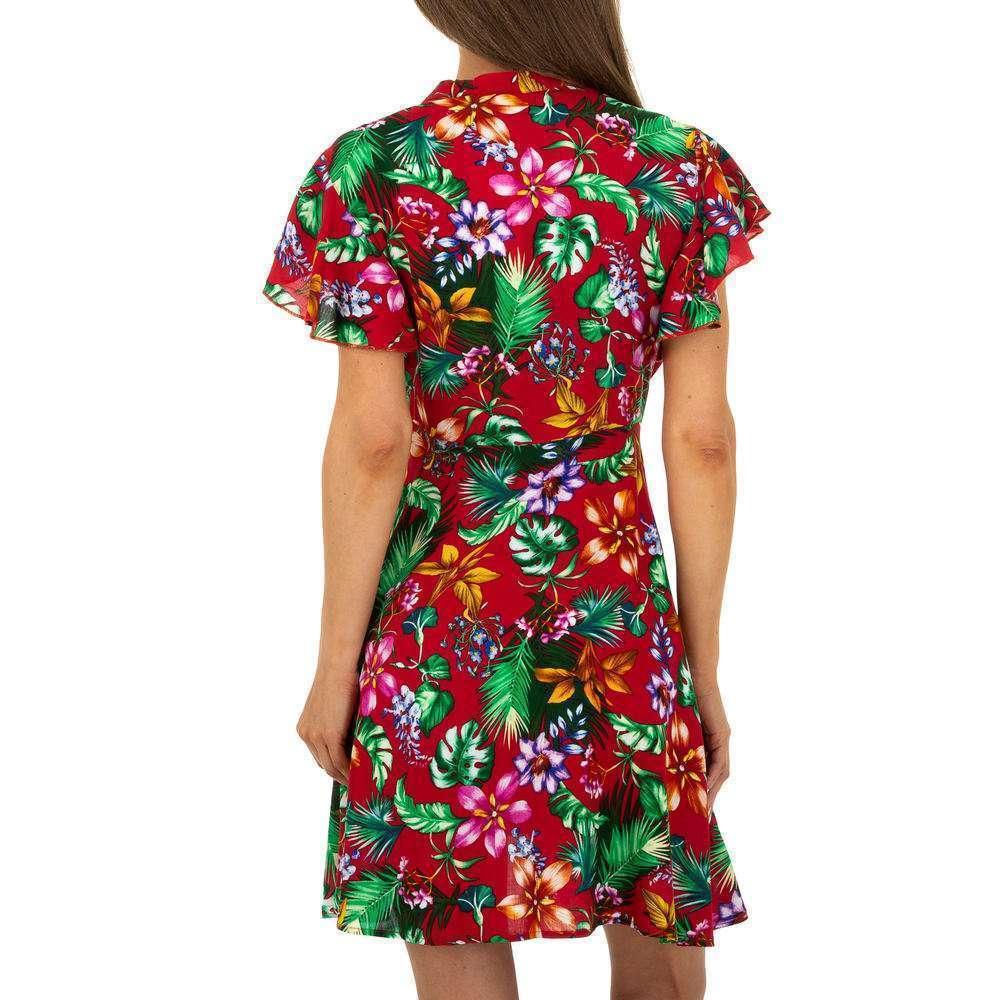 Mini rochie pentru femei - roșie - image 3