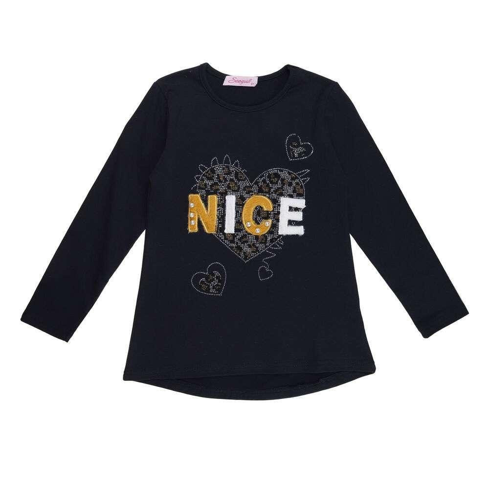 Tricou pentru copii cu mâneca lungă