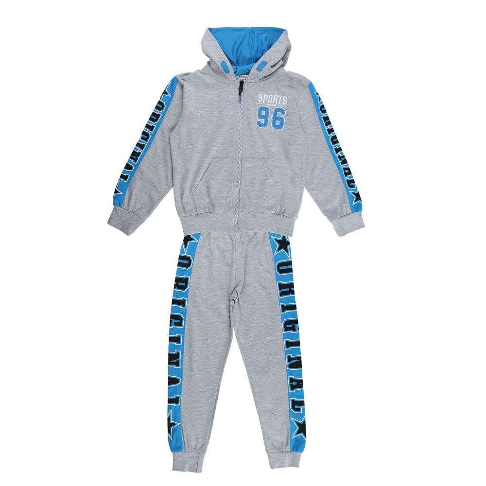 Costum sport pentru băieți de Seagull - gri