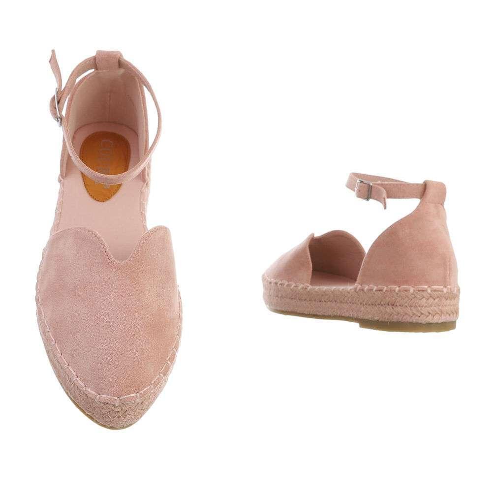 Espadrile pentru femei - roz - image 3