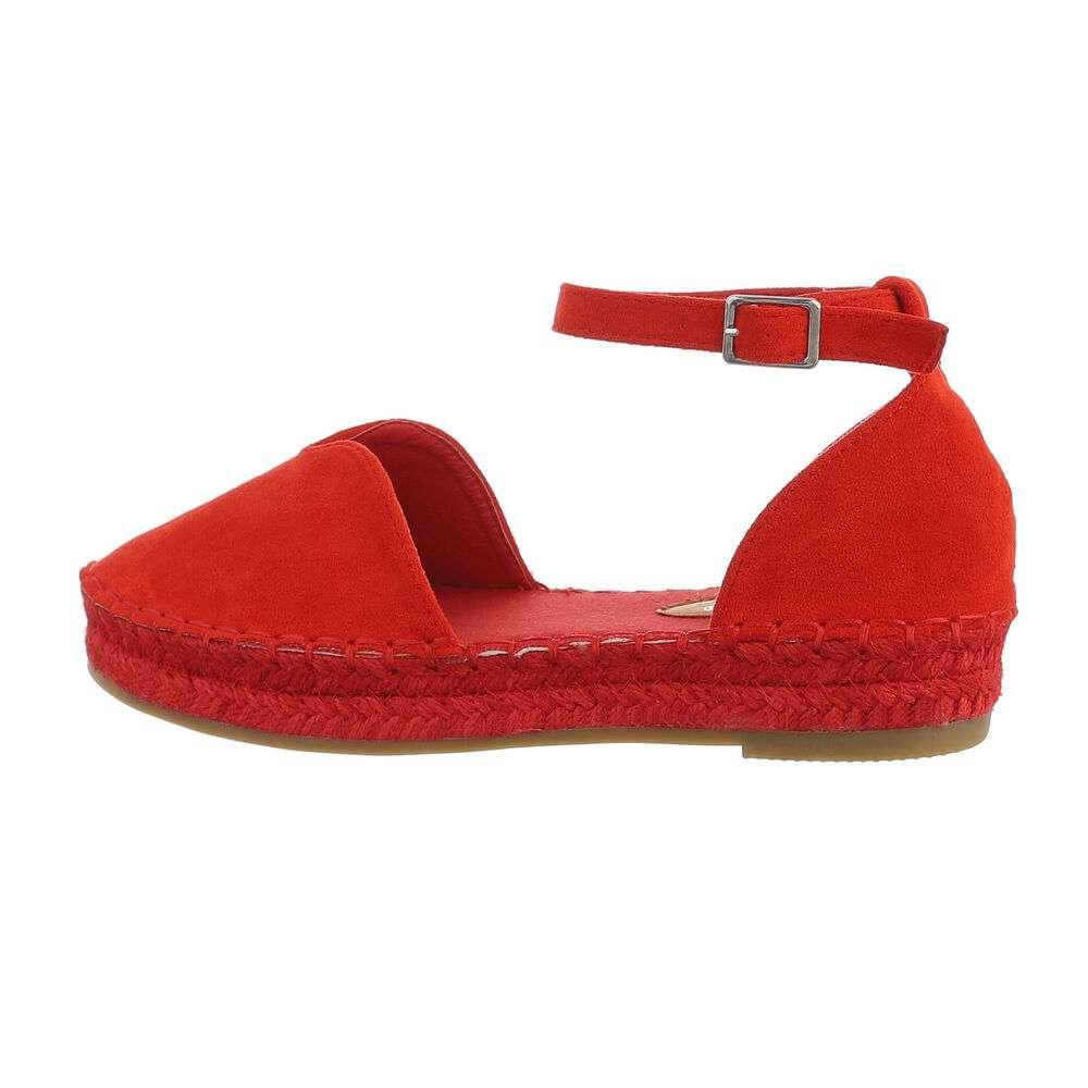 Espadrile pentru femei - roșii