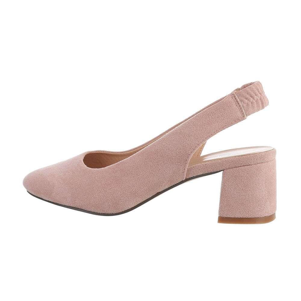 Pantofi clasici pentru femei - roz