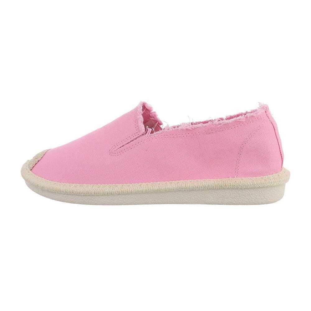 Espadrile pentru femei - roz