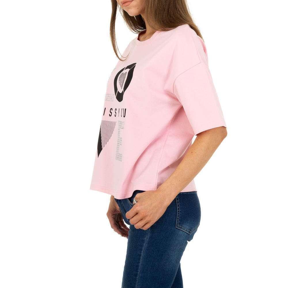 Tricou de dama de la Glo Story - trandafir - image 2