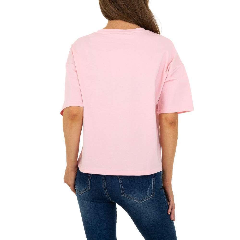Tricou de dama de la Glo Story - trandafir - image 3