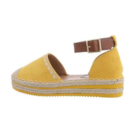 Damen Espadrilles - yellow