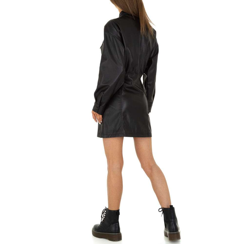 Rochie mini pentru femei de la SHK Paris - neagră - image 3