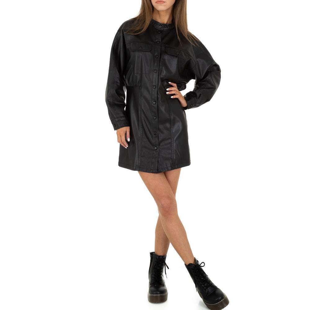 Rochie mini pentru femei de la SHK Paris - neagră - image 5
