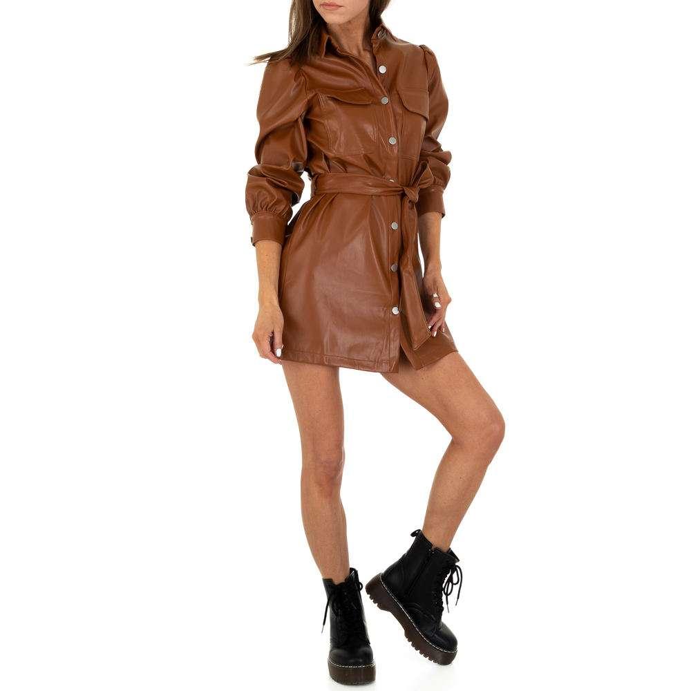 Damen Minikleid von SHK Paris - brown