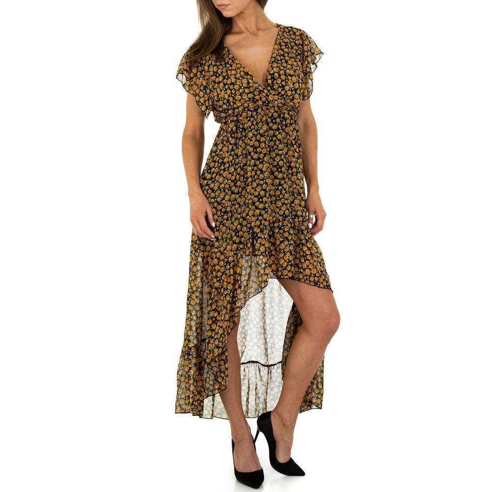 Rochie de vară pentru femei de la Voyelles - jaune