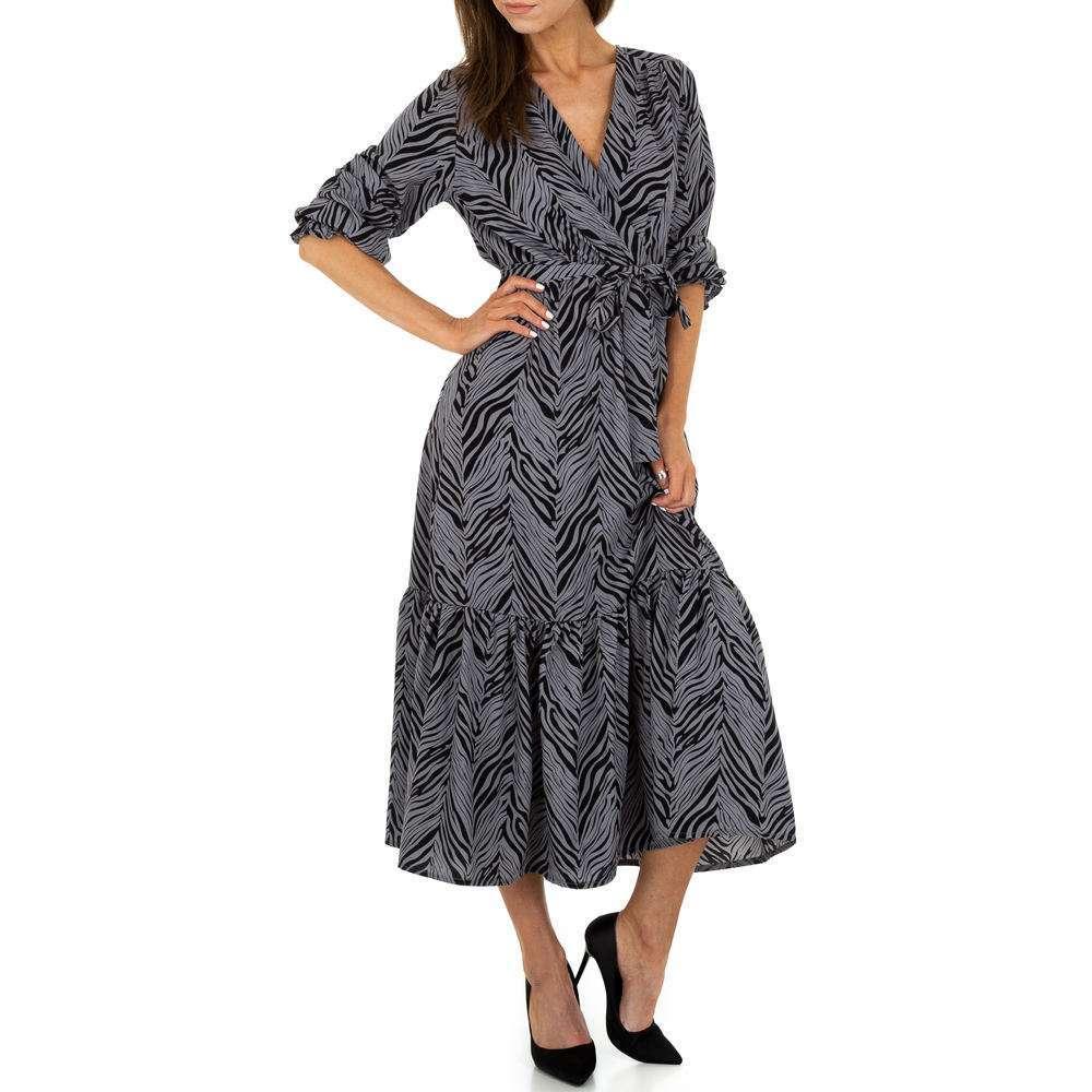 Rochie maxi pentru femei de la Voyelles - gris