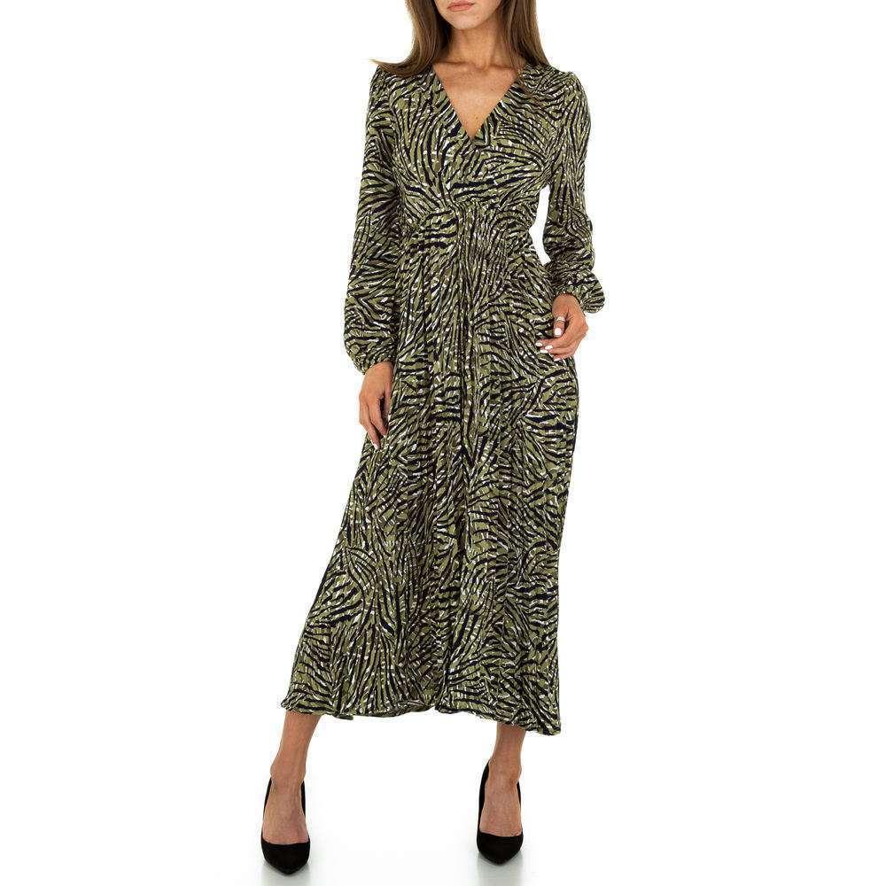 Rochie maxi pentru femei de la Voyelles - vert