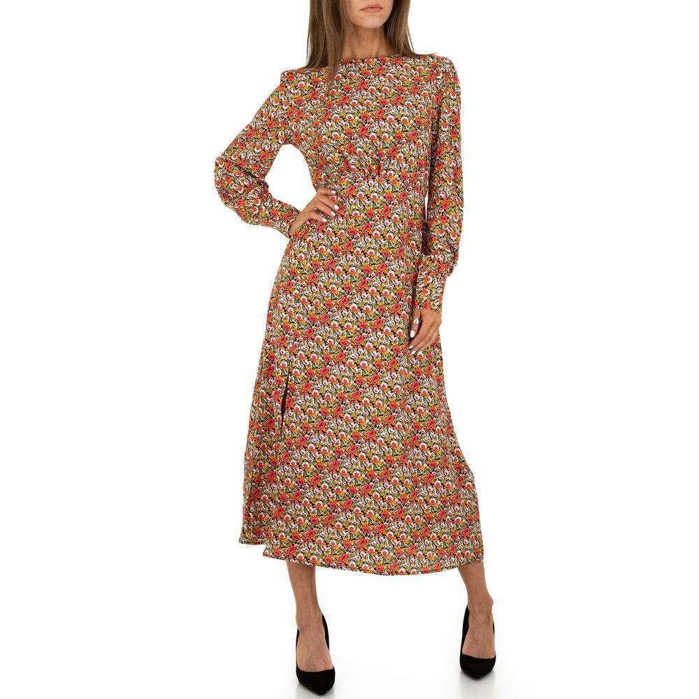 Rochie maxi pentru femei de Voyelles - neagră