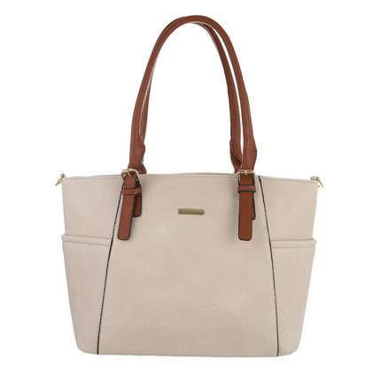 Damen Shopper - taupe