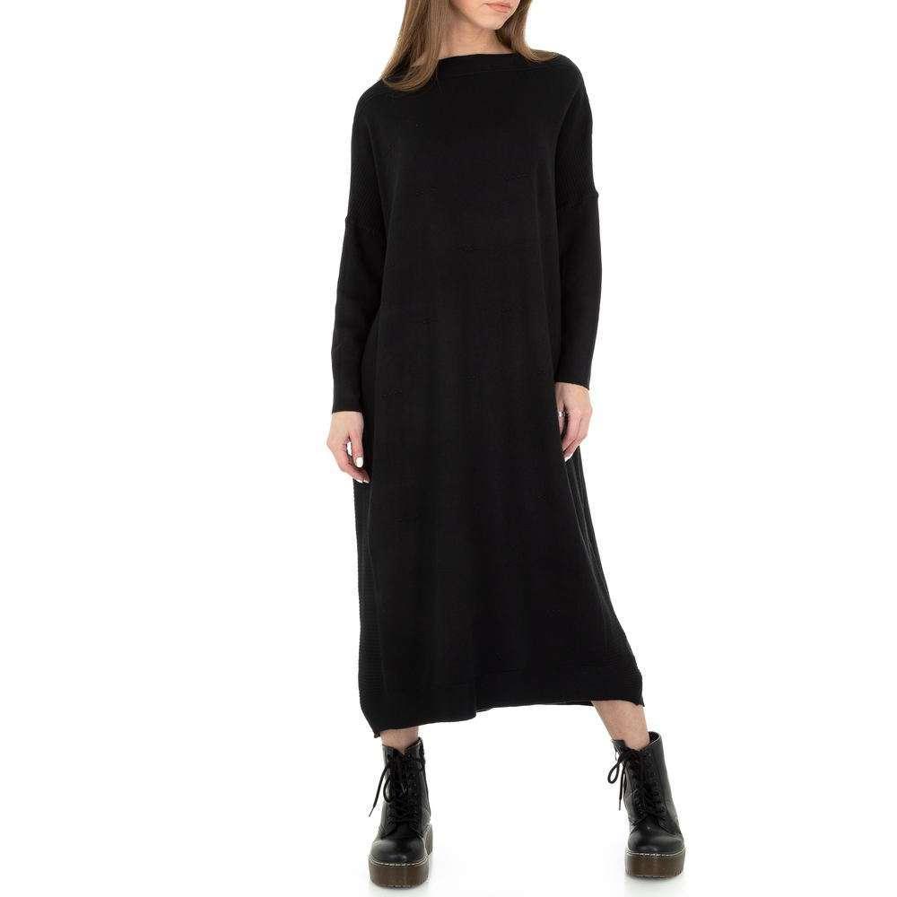 Rochie tricotată pentru femei de Glo Story Gr. O singură mărime - negru