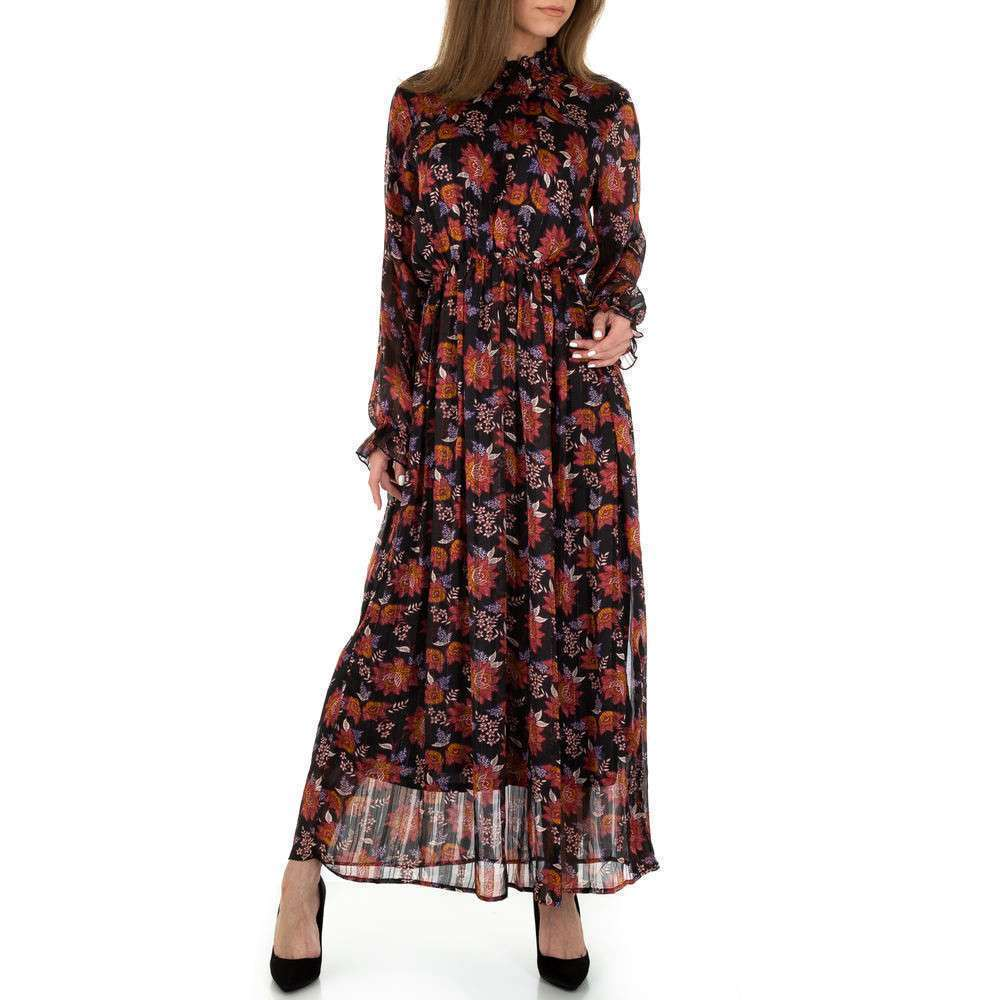 Rochie maxi de femei JCL - neagră