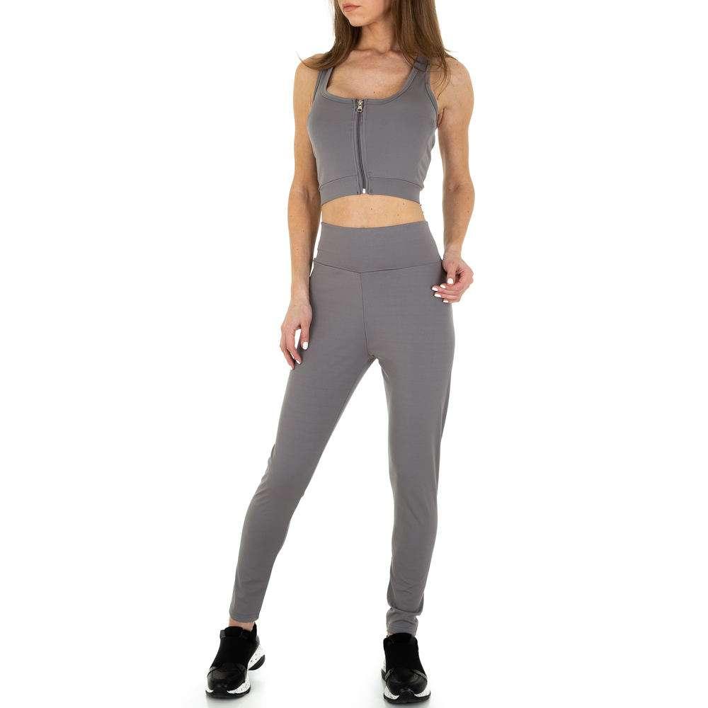 Costum de jogging și agrement pentru femei de Holala Fashion - gri