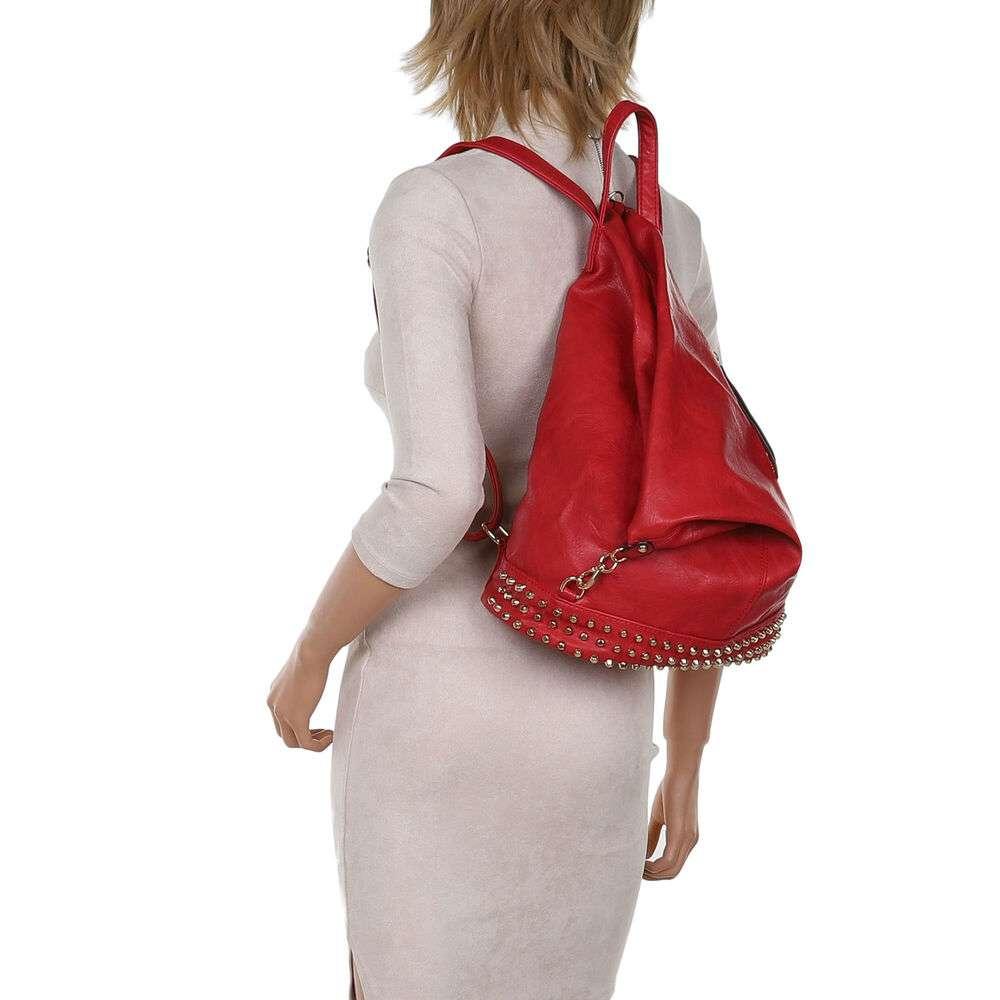 Rucsac pentru femei - roșu - image 4