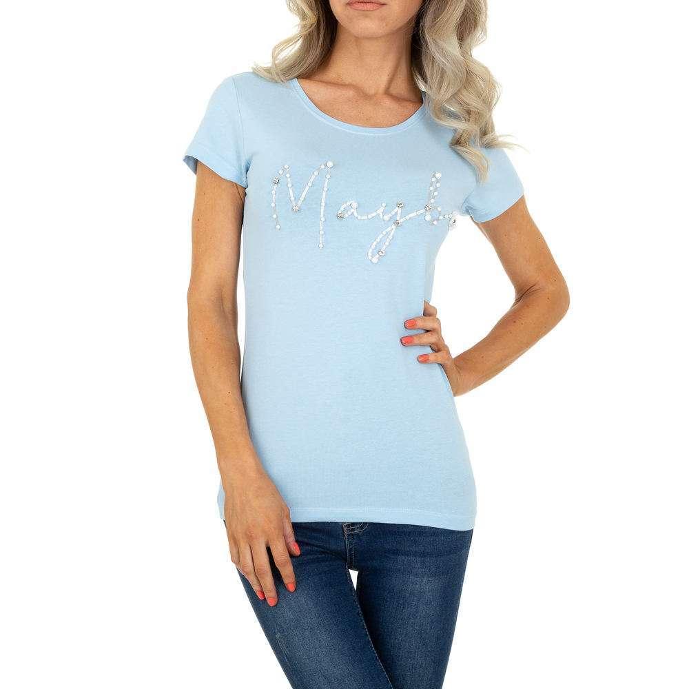 Tricou de dama de la Glo Story - L.blue