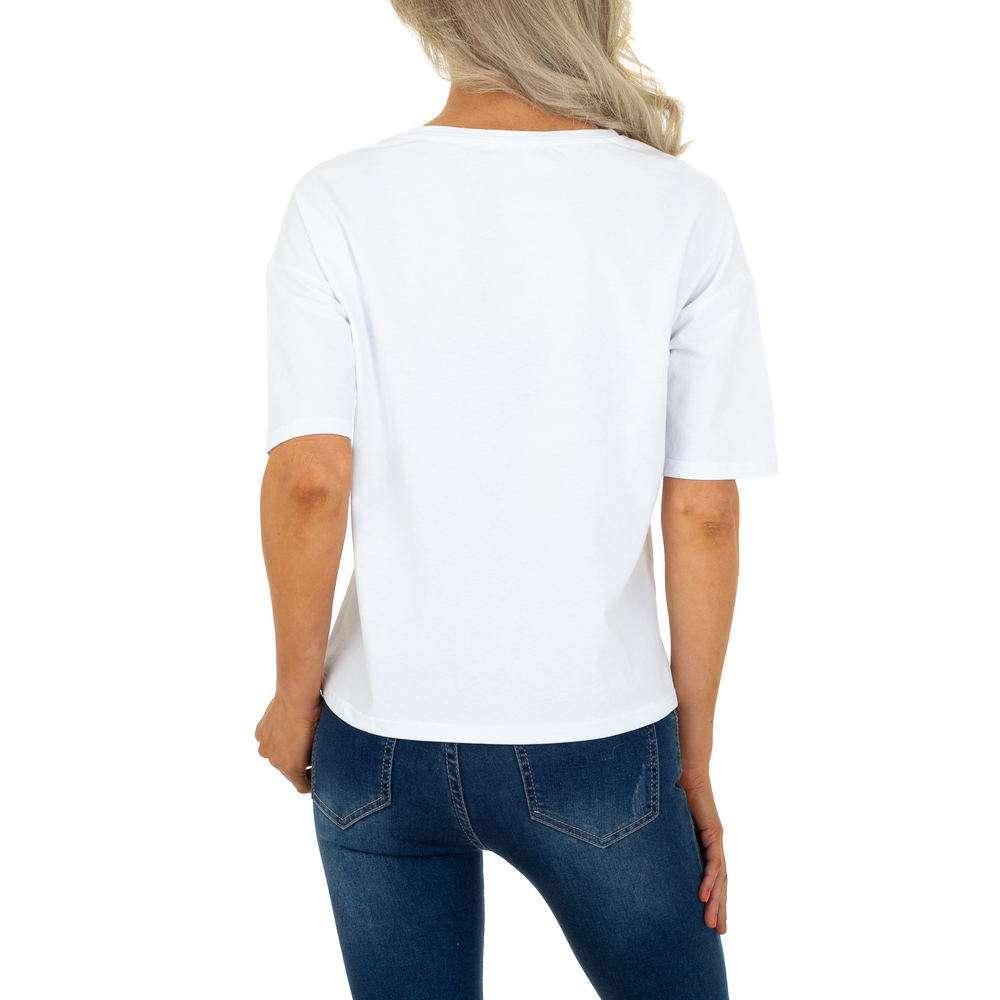 Tricou de dama de la Glo Story - alb - image 3