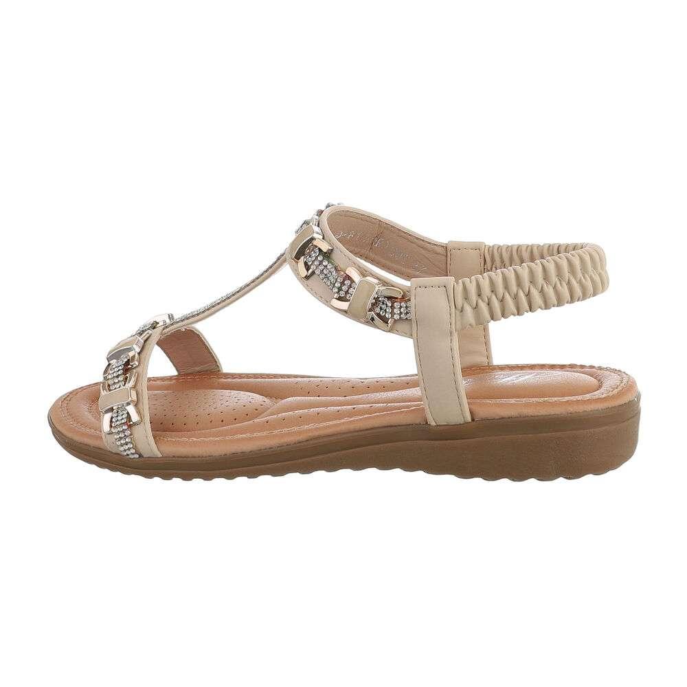 Sandale plate pentru femei - cais
