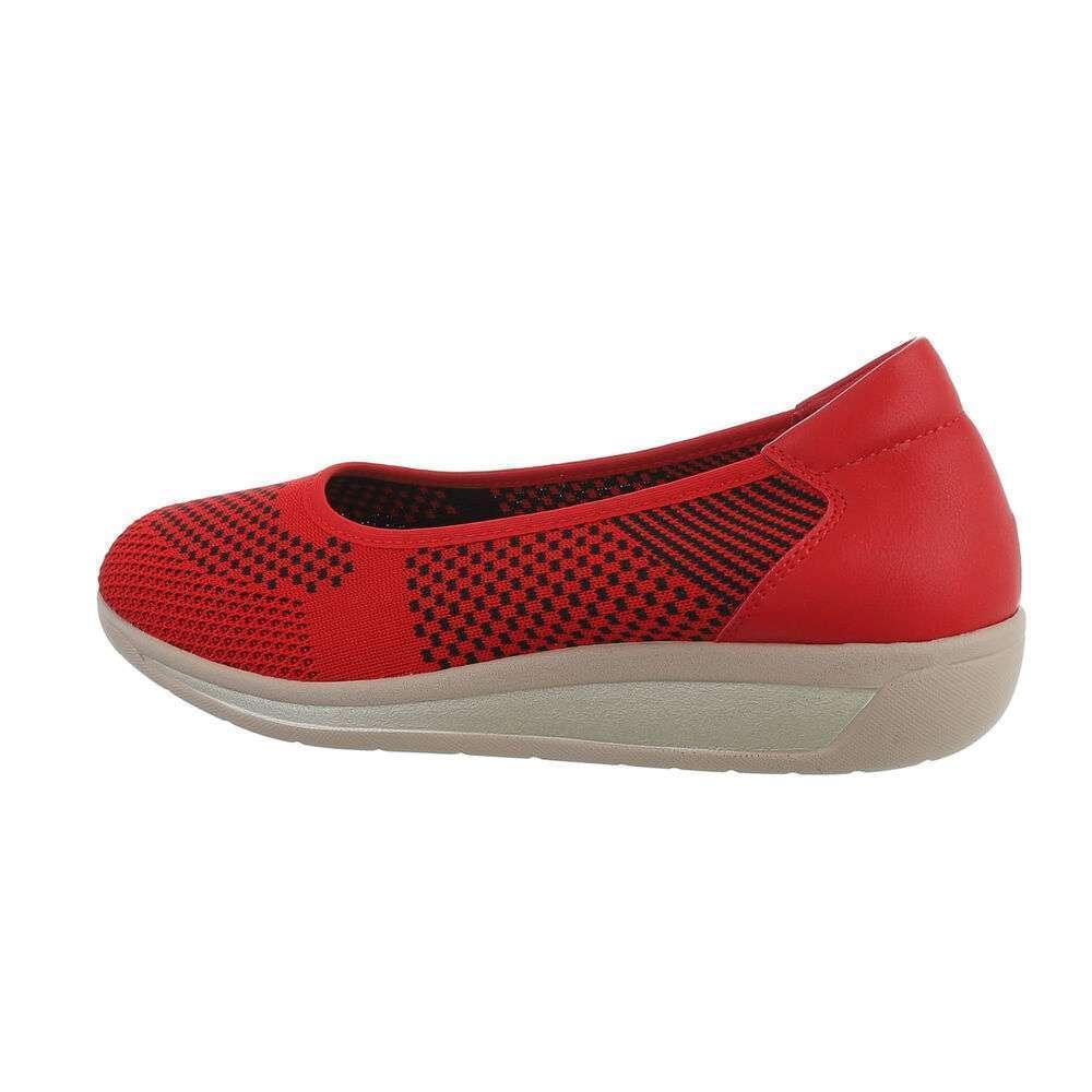 Papuci de damă - roșii