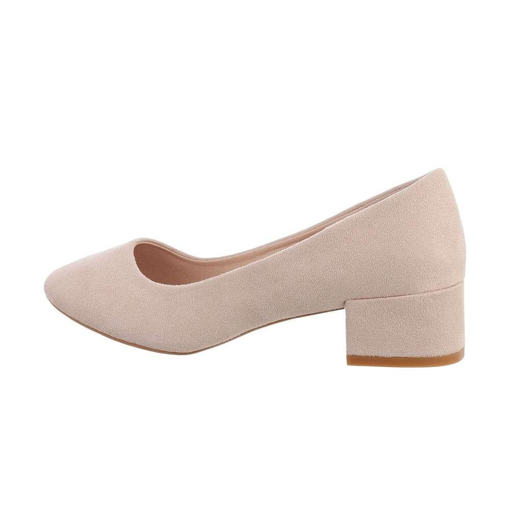 Pantofi clasici pentru femei - bej